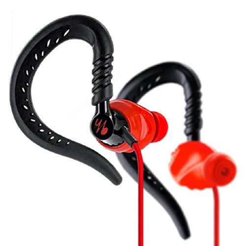 Yurbuds Focus 300 Fitness Headphones (Red)