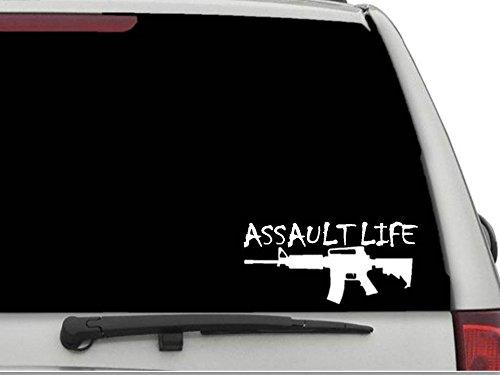 Top assault life car decal for 2019
