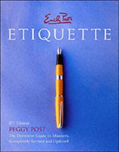 Emily Post's Etiquette, 17th Edition (Thumb