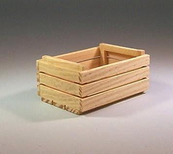 Sin tratar en cajas de fruta en miniatura tamaño: 3,5 x 5 cm. Para Belén.: Amazon.es: Hogar