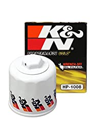 K&N HP-1008 Performance Wrench-Off Oil Filter