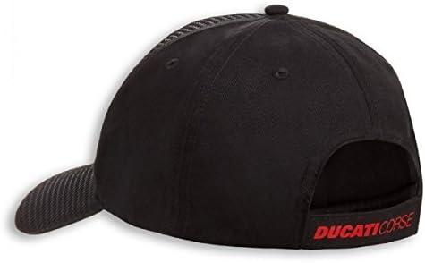 Ducati Corse Charbon Chapeau Noir