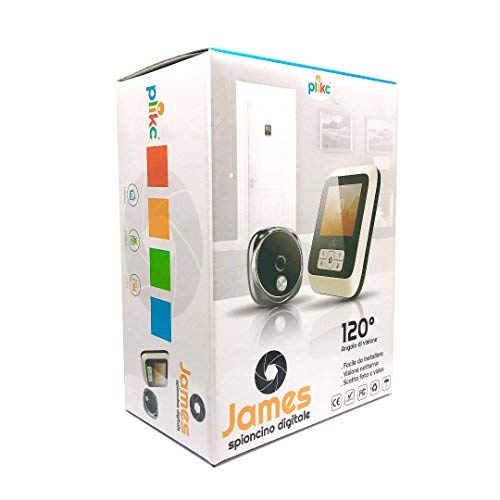 Weitere Uhren Clever Ultraflacher Elektronischer Digital Türspion Mit Nachtanschauung Und Möglichk