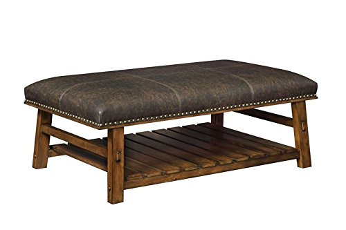 "Treasure Trove Accents 16561 Accent Bench 49"" x 29"" x 18"" - Material Content: 80% Pine Wood 20% PVC(25%, Fabric, 20% Stabilizer, 15%, Pigment, 15%, Resin, 15%, Plasticizer, 10%, Chelator) Dimensions: 49 x 29 x 18 Blends well with any décor - entryway-furniture-decor, entryway-laundry-room, benches - 41ashagVppL -"