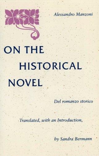 """""""On the Historical Novel"""" av Alessandro Manzoni"""