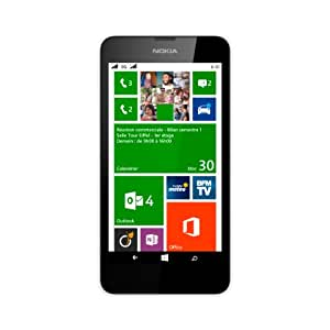 "Nokia Lumia 630 - Smartphone libre Windows Phone (pantalla 4.5"", cámara 5 Mp, 8 GB, Quad-Core 1.2 GHz, 512 MB RAM), blanco [importado]"