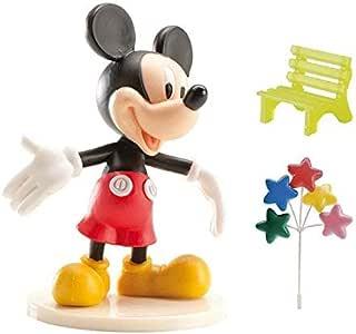 AEC GU24156 PVC Baking Decoration Kit, Mickey Mouse, 9cm