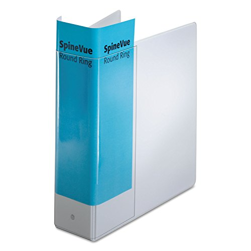 Cardinal SpineVue Locking Round Ring Binder (16903) (Vinyl Spinevue Ring Binder)