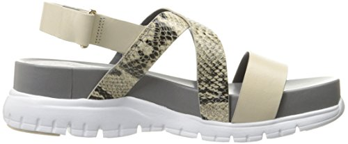 Zerogrand Cole Sandshell Haan Print Roccia Criss Optic White Cross Women's Sandal Gladiator Snake 66UfxE