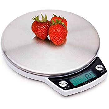 Ozeri pro digital kitchen food scale 1g to 12 for Professional food scale