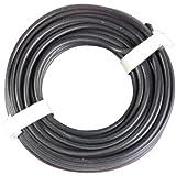 Unitec 76761 - Cable de conexión de coche para añadir dispositivos (10 m, 1,5 m2), color negro