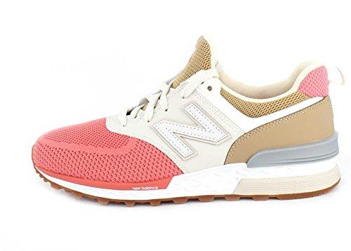 Aktuelle Damen Freizeitschuhe Schuhe Sneakers Turnschuhe 8695 Wei Rosa 41
