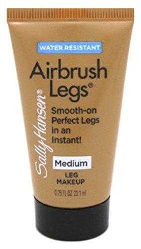 Sally Hansen Airbrush Tan - Sally Hansen Airbrush Legs Medium 0.75oz Travel Size Tube (2 Pack)