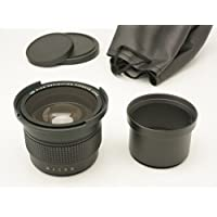 Gadget Place 0.35x High Definition Fisheye Lens with Macro for Leica D-LUX 5
