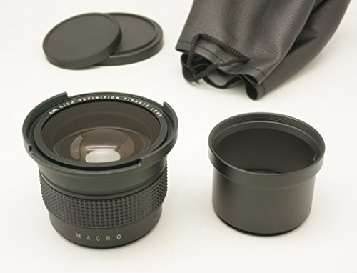Gadget Place 0.35x High Definition Fisheye Lens with Macro for Leica D-LUX 5 by Gadget Place