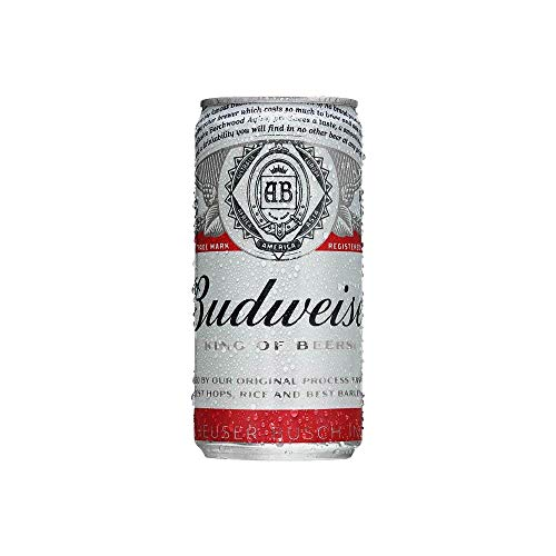 Cerveja Budweiser 269ml Caixa Unidades
