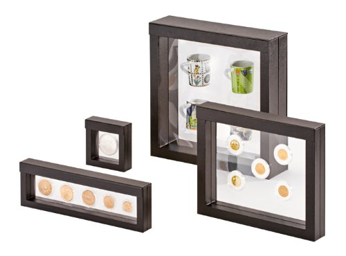Amazon.com - 3D NIMBUS Floating Frame, Shadow Box, Display Case, Box ...