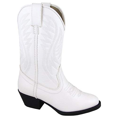 Smoky Mountain Youth Mesquite II White Boots 5.5]()