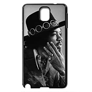 Custom Case Guitar player jimi hendrix poster phone Case Cove For Samsung Galaxy NOTE 3 Case JWH9217119