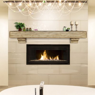 Shenandoah Fireplace Mantel Shelf Finish: Espresso Distressed, Shelf Length: 60'' by Pearl Mantels