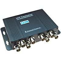 SMAKN 8 Channel Passive Video Transceiver UTP Video Balun (1 pcs)