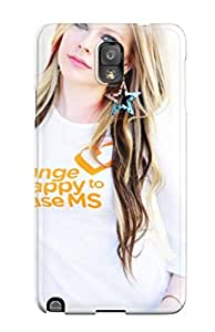 New Style Note 3 Protective Case Cover/ Galaxy Case - Avril Lavignewidescreen