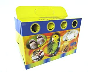 YML Cardboard Carrier for Small Animals or Birds, Small, Lot of 100 from Yml Group Inc