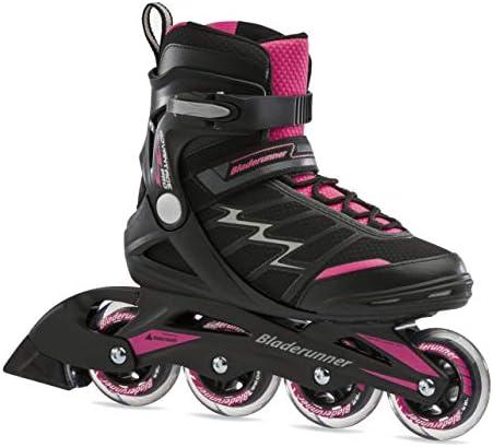 Rollerblade Bladerunner Advantage Pro XT Women's Adult Fitness Inline Skate, Black and Pink, Inline Skates