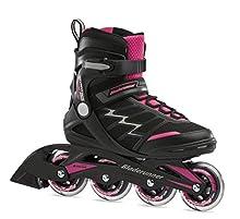Bladerunner by Rollerblade Advantage Pro XT Women's Adult Fitness Inline Skate, Black and Pink, Inline Skates