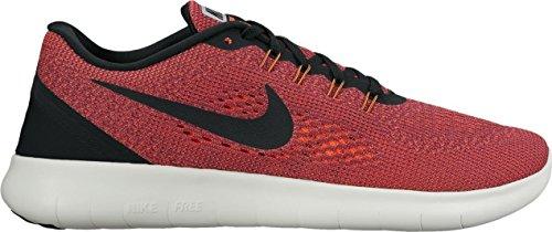 Nike Free RN Hyper Orange/Black/Ocean Fog/Wolf Grey Men's Running Shoes