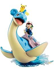 日亚:MegaHouse Pokemon 精灵宝可梦 小智&皮卡丘&乘龙 涂装完成版手办 8199日元(约¥550) 小智&皮卡丘&乘龙,经典场景还原。