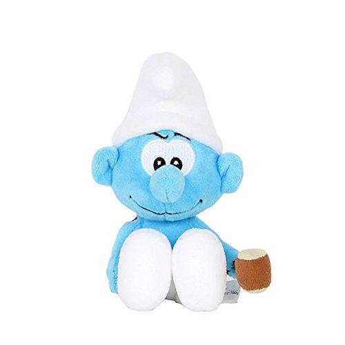 Smurfs Hefty Smurf, Stuffed Animals Plush Toy Kids Backpack Clip - Toys Smurf Plush