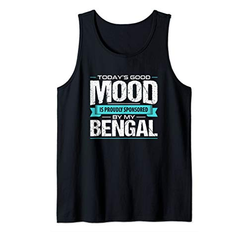 Bengal Cat Tank Top