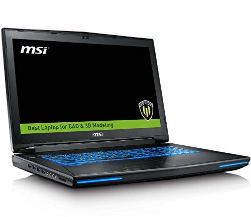 MSI WT72 6QN-218US Pro Extreme (i7-6920HQ, 64GB RAM, 4TB NVMe SSD + 1TB HDD, NVIDIA Quadro M5500 8GB, 17.3