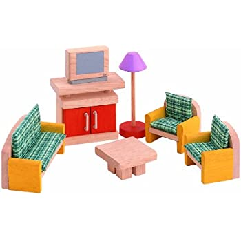 PLAN TOYS Dollhouse Furniture   Neo Living Room
