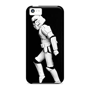 Iphone 5c Cover Case - Eco-friendly Packaging(star Wars Michael Jackson Moonwalk)