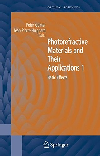 Photorefractive Materials and Their Applications 1: Basic Effects (Springer Series in Optical Sciences) (v. (Vertical Optical Crystal)