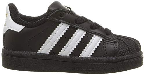 Da Adidas Superstar Scarpe Unisex I black Ginnastica Black white Bambini Basse 7qZqtrw