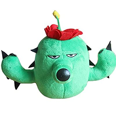 E.a@Market Plants Vs Zombies Cactus Plush Toy Stuffed Toys: Toys & Games