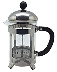 Wee's Beyond 7755 Brew-Fresh French Press Glass Coffee/Tea Maker, Clear/Glass made by Wee's Beyond