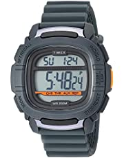 Timex Men's Command 47mm Silicone Strap Watch