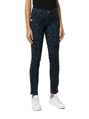 Jeans Donna Versace Cotone BD40430BT21018BLUE Blu Versus zA0gxw1qz