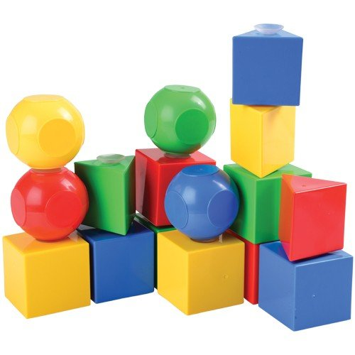 (Stick Together Blocks with Suction Cups to Create Sturdy Structures)