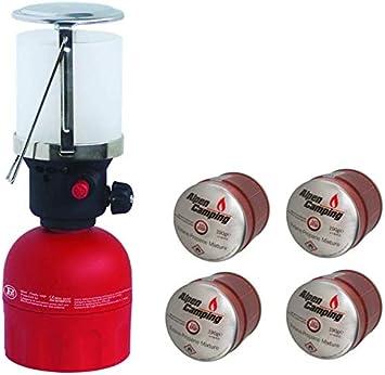 Firefly - Farol de gas profesional para camping (120 p ...