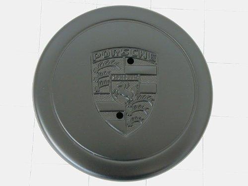 Porsche (74-89) Wheel Hub Cap (BLACK) for 5-spoke Alloy (Porsche Alloy Wheels)