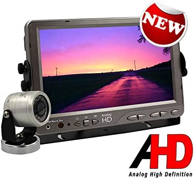 Trailers Campers /& Construction Equipment AgCam Heavy Duty AHD Backup Camera System 7in Backlit LED AHD Monitor w//Ag Cam Camera Perfect for Tractors Waterproof Made in USA Cattle