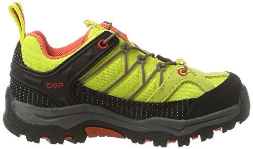 C.P.M. Rigel, Zapatos de Low Rise Senderismo Unisex Niños Verde (Apple)