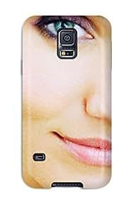 Protective Tpu Case With Fashion Design For Galaxy S5 (wallpaper De Cameron Diaz )