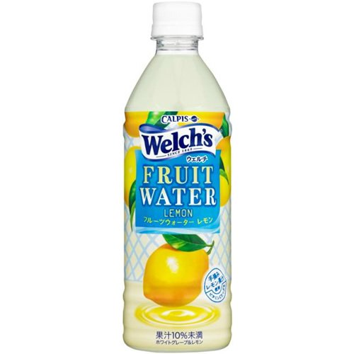 Calpis Welch's (Welch) Fruit Water Lemmon 500mlX24 this by Welch's