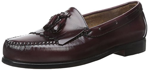 Bass Men's Layton Loafers Shoes - Burgundy - 10.5 D(M) US